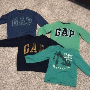 4-piece toddler boy top bundle-4 T